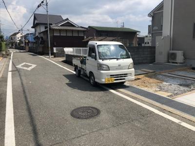 【前面道路含む現地写真】小野市天神町 B号棟