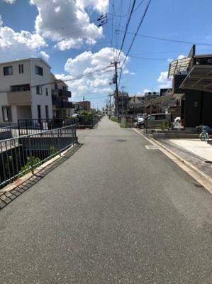 【前面道路含む現地写真】東大阪市鳥居町 中古戸建