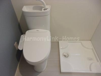 ル・ソレイユ五反野のゆったりとした空間のトイレです☆