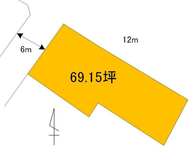 【土地図】三の丸2丁目土地