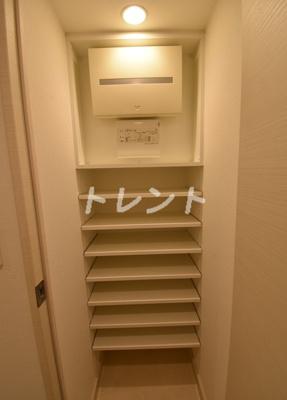 【玄関】オーキッドレジデンス銀座東