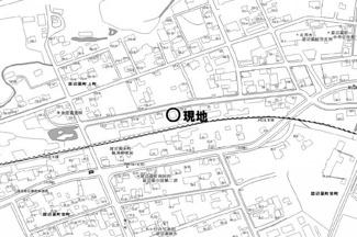 【地図】留辺蘂町上町 売土地