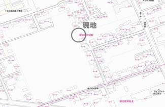 【地図】留辺蘂町栄町 売土地