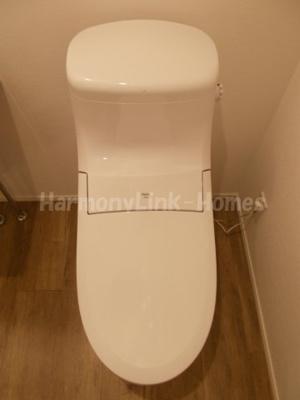 フロンティアコンフォート板橋ときわ台のコンパクトで使いやすいトイレです
