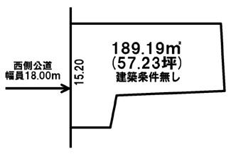 【土地図】訓子府町旭町 売土地