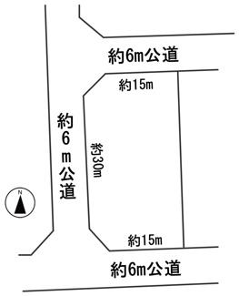 【区画図】55478 関市桜台土地