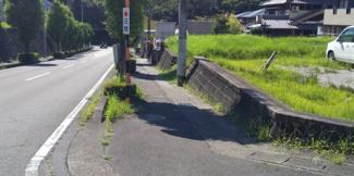 【前面道路含む現地写真】55479 関市桜台土地