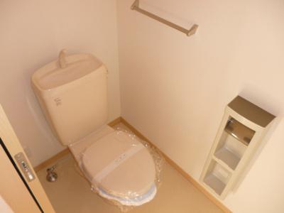 清潔感のあるトイレです(#^.^#)