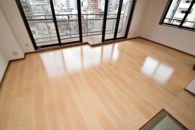 【居間・リビング】グランソレイユ日本橋