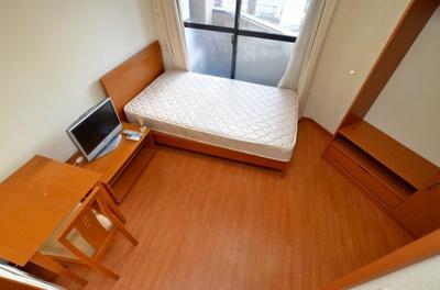 【寝室】リバパレス靭公園