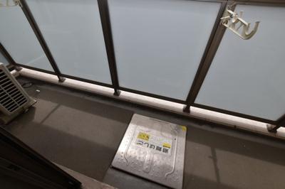 【バルコニー】ラフォルテ日本橋