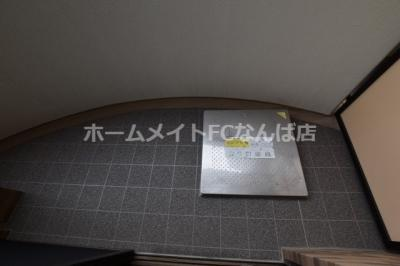【バルコニー】LUXE NANBA