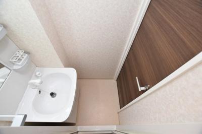 【洗面所】Luxe難波西Ⅱ