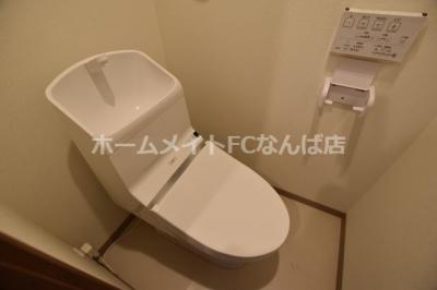 【トイレ】メビウス難波WESTレジデンス
