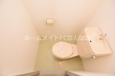【トイレ】フォレストスクエア西長堀