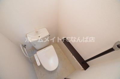 【トイレ】ヴィラウエストナンバ