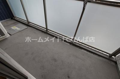 【バルコニー】レジェンドール心斎橋EAST