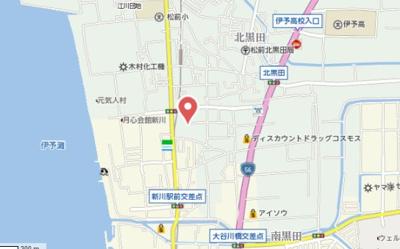 【地図】ドミールシャンテ