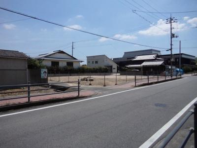 【前面道路含む現地写真】邑久町尾張土地