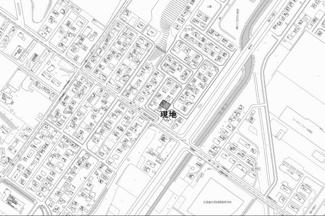 【地図】並木町 中古戸建