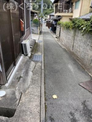 【前面道路含む現地写真】相生市相生4丁目/中古戸建