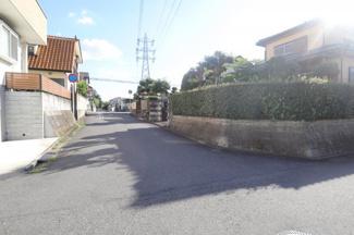 千葉市中央区都町 土地 千葉駅 前面道路6mの為、駐車も安心です!