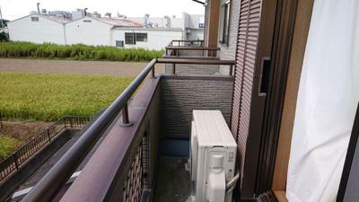 【バルコニー】つくばみらい市下平柳 中古住宅