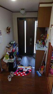 【玄関】つくばみらい市下平柳 中古住宅