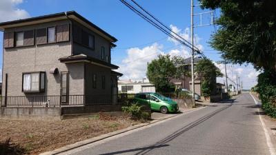 【前面道路含む現地写真】つくばみらい市下平柳 中古住宅