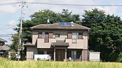 【外観】つくばみらい市下平柳 中古住宅