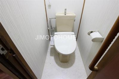 【トイレ】南市岡3丁目テラスハウス