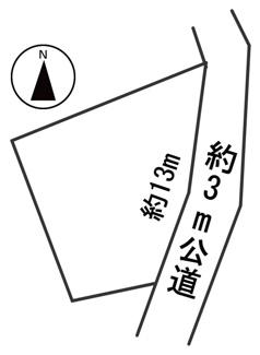 【区画図】55378 岐阜市大菅北土地