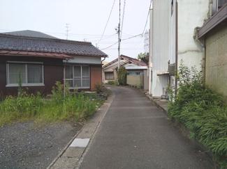 【前面道路含む現地写真】55378 岐阜市大菅北土地