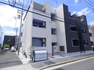 【外観】平成30年建築!1LDKの一棟収益アパート