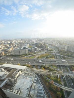 シエリアタワー千里中央 スカイガーデンからの眺望は絶景です