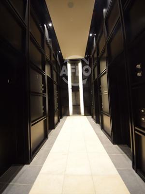 シエリアタワー千里中央 エレベーターホール