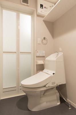 トイレはウォシュレットがついてます!
