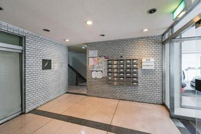 【エントランス】不二荘マンション 4階 角部屋 リノベーション済