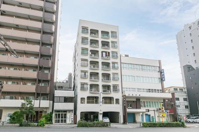【外観】不二荘マンション 4階 角部屋 リノベーション済