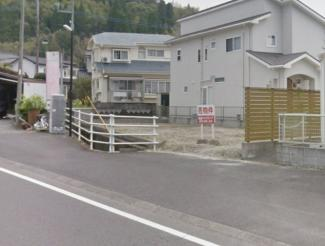 【前面道路含む現地写真】上谷口町 売地