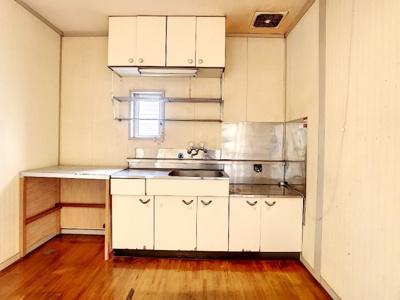 【キッチン】コーポNAGANOⅡ