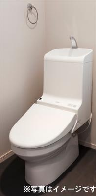 清潔なトイレですね。