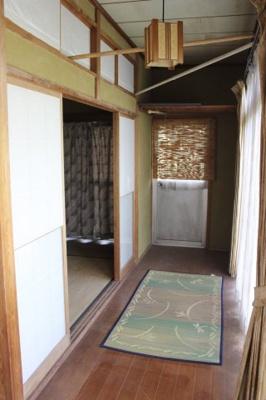 三間続きの和室。縁側もあるので天気の良い日はのんびり日向ぼっこも♪