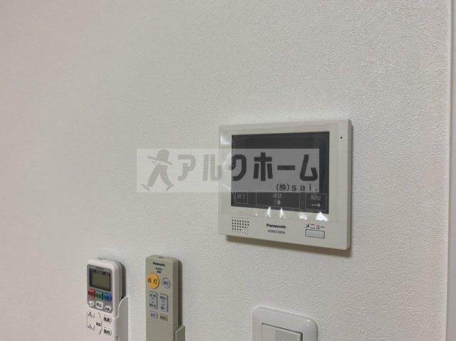 EXハイツ柏原(柏原市大正・JR柏原駅) TVモニターホン