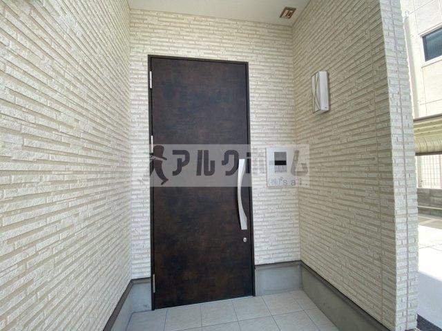 EXハイツ柏原(柏原市大正・JR柏原駅) 入口