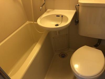 【浴室】コーポタカヤマ