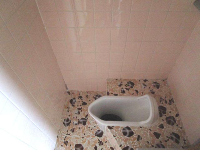懐かしい和式トイレです