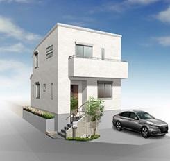 【外観パース】神戸市垂水区狩口台5丁目 新築戸建