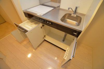 【キッチン】エステムコート難波サウスプレイスⅤエレージュ