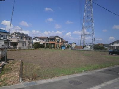 【外観】熊谷市高柳 6180万 土地